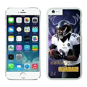 Baltimore Ravens Corey Graham iPhone 6 Cases 01 White 4.7 inches63391_53396 wangjiang maoyi