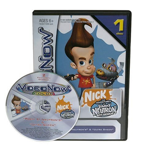 VIDEONOW Color Personal Video Disc: The Adventures of Jimmy Neutron Boy Genius: Party at Neutron's and Ultra Sheen by Hasbro (Image #1)
