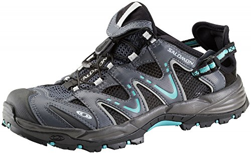 Salomon Damen Wasserschuhe 0 GREY DENIM/LIGHT ONIX/AZURE