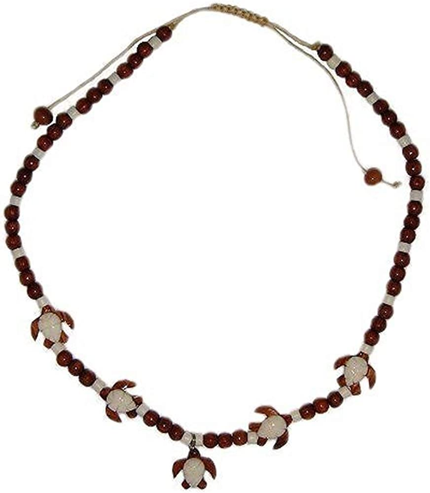 Hawaiian Jewelry Honu Hawaii Sea Turtle Hand Carved Buffalo Bone Hawaii Necklace