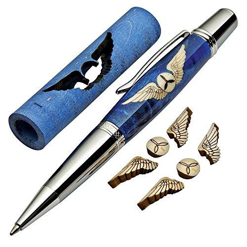 Aviator's Wings Laser-Cut Inlay Pen Kit Blank