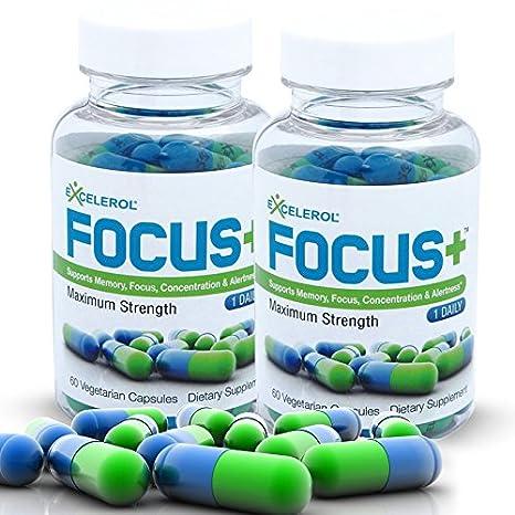 Buy Excelerol Brain Supplements Focus Brain Supplement Memory