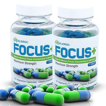 Amazon Com Focus Brain Supplement And Memory Support Pill 120