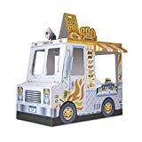 Melissa & Doug Food Truck Indoor Corrugate Playhouse (Over 4 Feet Long)