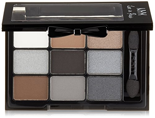 NYX Professional Makeup Love in Paris Eyeshadow Palette, A La Mode, 0.03 Ounce