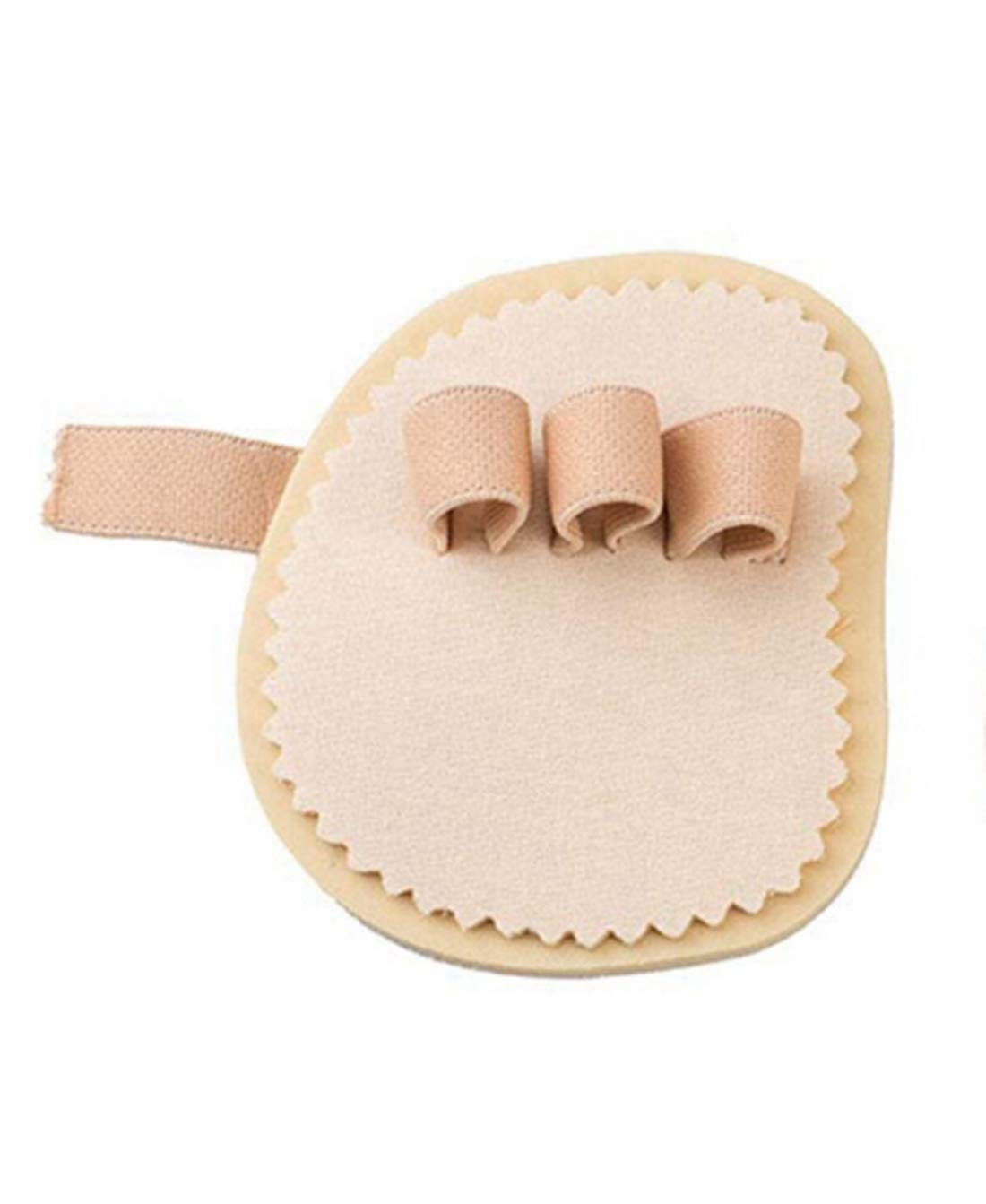 Toe Straightener Hammer Toes Corrector Pack for Claw Toe Mallet Toe Contracted Toe and Cured Toe Hammer Toe Splint
