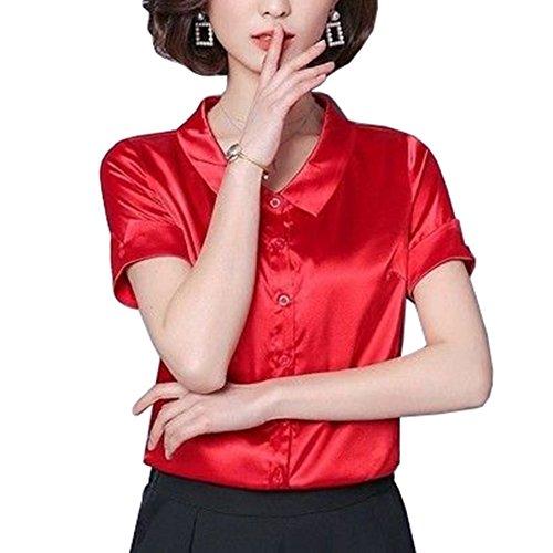 YOUMU Femme Chemisier Femme YOUMU Chemisier Red Red 1qznx