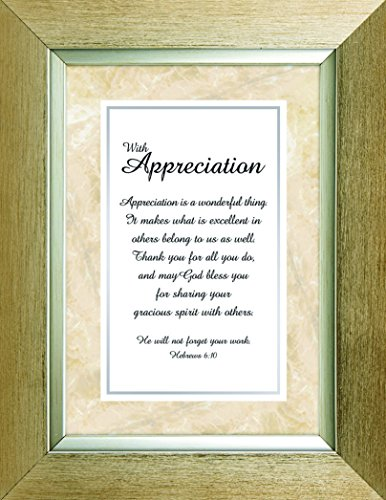 Heartfelt Collection Meaningful Moments Frame, With Appreciation by CB Gift