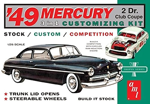 AMT 1949 Mercury Club Coupe 1/25 Scale Model Car ()