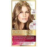 Tinte Capilar Excellence L'Oréal Paris 7.1 Rubio Cenizo