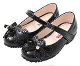 Ozkiz Toddler Girls & Little Girls Flat Shoes With Ribbon Spring Fall BK 8M