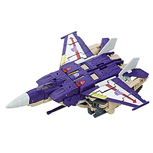 Transformers Generations Titans Return Blitzwing and Decepticon Hazard (Jet Decepticon)