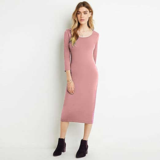 Sexy Pink Knee Length Dresses