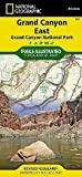 National Geographic Trails Illustrated Map, 262 Grand Canyon East Map