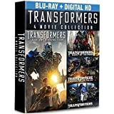 Transformers Complete 4-Movie Collection (Blu-ray)