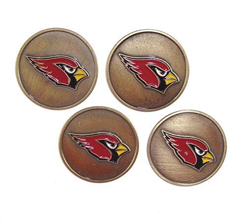 McArthur Arizona CardinalsNFL Golf Ball Markers (4 Pack)