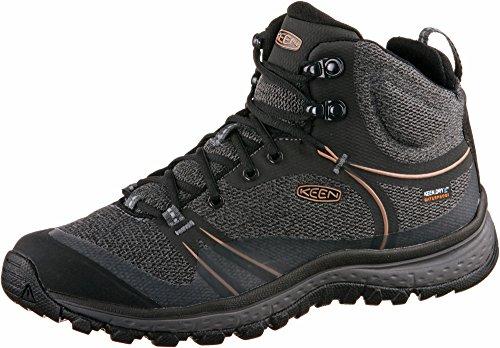 rose dawn Shoes Mid Waterproof raven Rise Hiking Terradora WoMen High Keen RpqxwFzPF