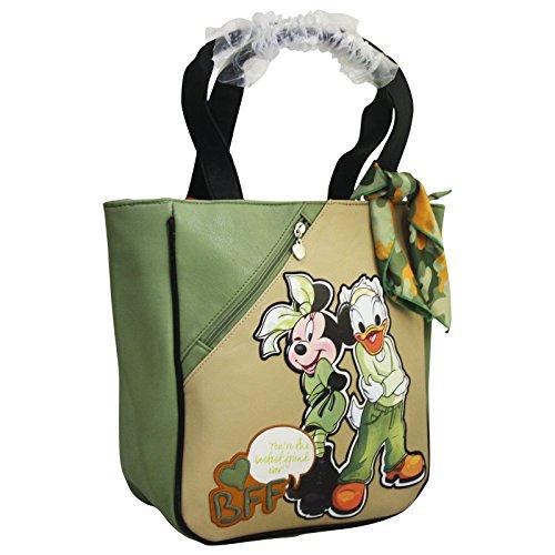 Disney Minnie und Daisy Damen Tasche Handtasche Henkeltasche Tote Shopper