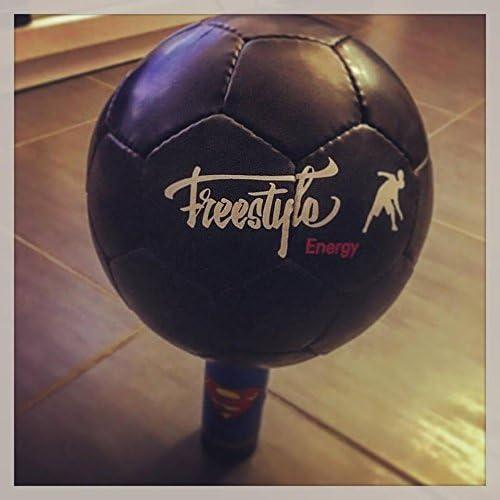 Freestyle Energy - Balón de fútbol «Energyglobe» de color negro ...