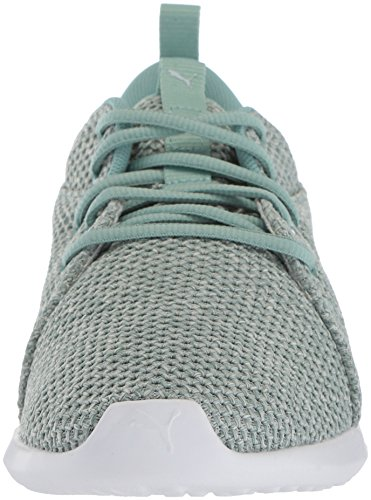 PUMA Flower Women's blue Sneaker Aquifer Knit 2 Carson Nature Wn wwqUzr