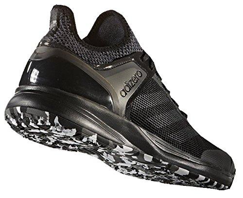 Adidas adizero Ubersonic 2 Herren Tennisschuh Schwarz / Granit