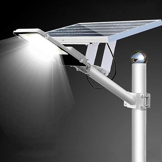 SOLIGHTS Ultra Potente Farolas Solares 50W~600W Impermeable IP65 Lámparas Solares con Sensor Crepuscular Y Soporte Ajustable Y Control Remoto para Calle,Patio,jardín Etc,120W: Amazon.es: Hogar