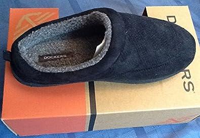 Men's Perforated Clog (Black) (Size: 8-9 Medium)