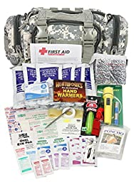 PhysiciansCare by First Aid Only 90453 3-Day Survival and First Aid Kit, Digital Camo (73 Piece Kit)