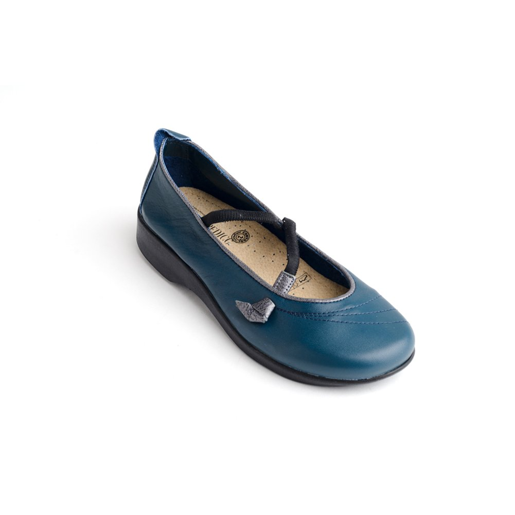 Arcopedico 6201 Vitoria Womens Mary Jane Flats B01M0CH20M 35 EU|Indigo