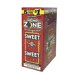 Amazon.com: Hemp Zone Cigar Wraps (Sweet): Health