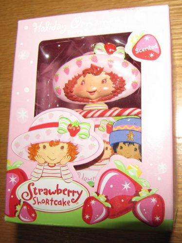 Photo Strawberry Shortcake - Strawberry Shortcake Christmas Ornament 2004 MIB Photo Holder