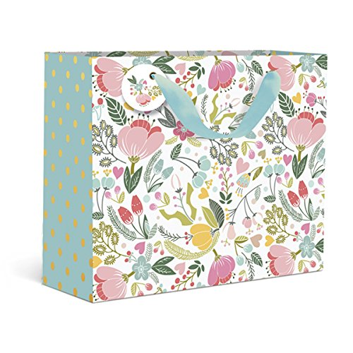 - Dots and Floral Small Gift Bag