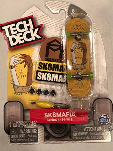 Tech Deck SK8MAFIA Series 5 Tyler Surrey All You Need is Love RARE 96mm Fingerboard Skateboard