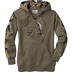 Legendary Whitetails Ladies Outfitter Hoodie Army X-Small