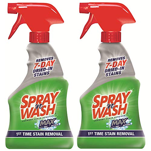 Spray 'N Wash Max Laundry Stain Remover, 16 oz (Pack of 2)