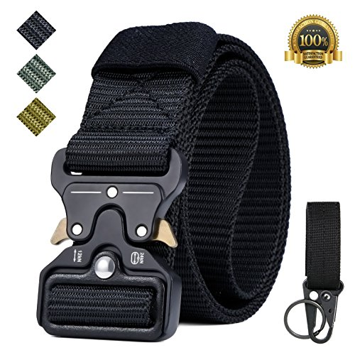 Why Should You Buy IWIVI 1.5 Inch Tactical Duty Belt Nylon Military Style Belt with Quick-Release Me...