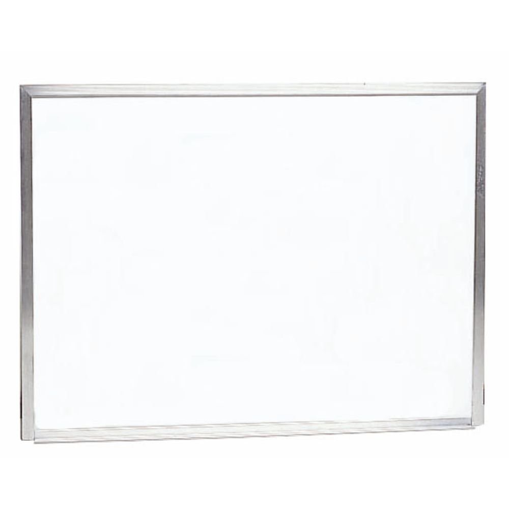 Wall Mount White Dry Erase Board Aluminum Frame 30''H x 40''W by Aarco Products Inc (Image #1)