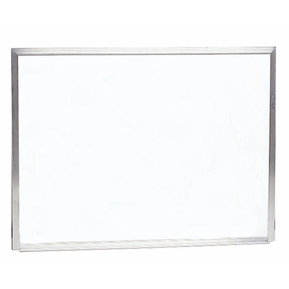 Wall Mount White Dry Erase Board Aluminum Frame 30''H x 40''W
