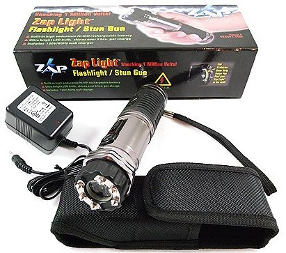 Jims Flashlight Zaplight Zapper Stun Gun Combo!