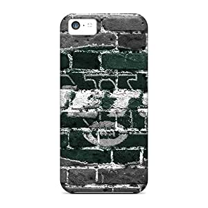Iphone 5c XmF14530LbFo Support Personal Customs Trendy New York Jets Pattern Bumper Cell-phone Hard Covers -ChristopherWalsh