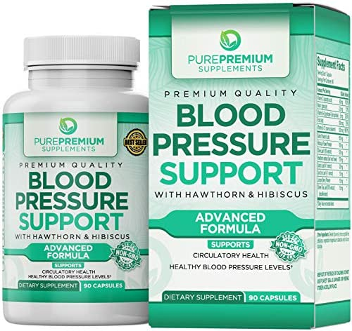 Premium Blood Pressure Support Supplement by...