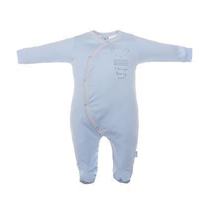 Cambrass 676.1, Pelele para Dormir para Bebé-Niñas, Celeste, T.3