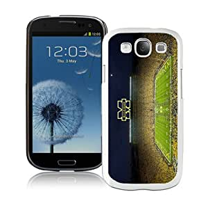 Unique Samsung Galaxy S3 Screen Case ,Popular And Durable Designed Case With Ncaa Michigan Wolverines 16 White Samsung Galaxy S3 High Quality Phone Case