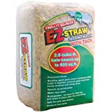 EZ-Straw Seeding Mulch with Tack - Biodegradable Organic Processed Straw - 2.5 CU FT Bale (covers up to 500 sq. ft.) (2 Pack)
