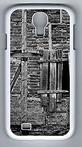 Old Building Hard Cover Back Case For Samsung Galaxy S4,PC Fashion White Case for Samsung Galaxy S4 i9500