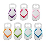 Cheap QLL 7 pack Flip-flop Bottle Opener, Gift Wrap for Each Opener