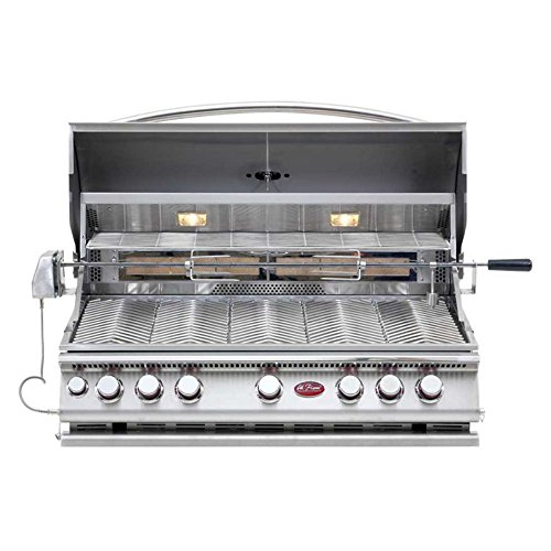 Cal Flame 5 Burner (Cal Flame 5-Burner Built-In Convection Grill with Rotisserie)
