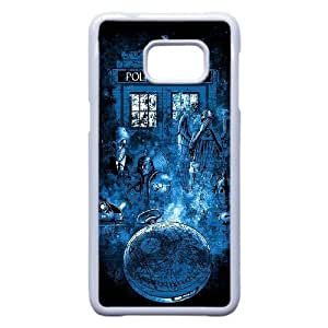 Samsung Galaxy Note 5 Edge Phone Case White Doctor-Who Protective Hard VMN8193417