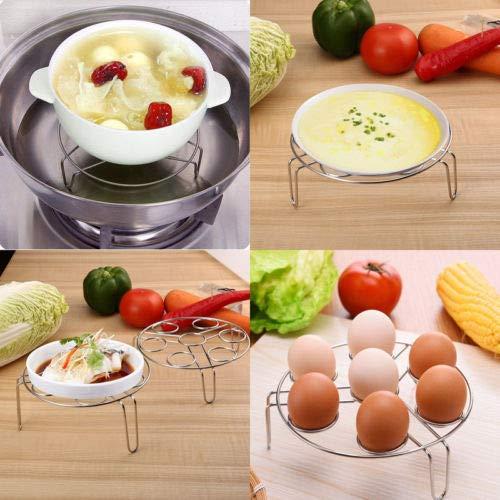 Brass Dutch Chandelier - 2 Pack Egg Cooker Steamer Rack Trivet Instant Pot Pressure - Pot Rack