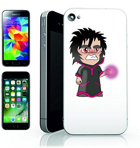 Smartphone Case Mago del mago del male della magia dei cartoni animati di fantasia gotico Medioevo per Apple Iphone 4/4S, 5/5S, 5C, 6/6S, 7& Samsung Galaxy S4, S5, S6, S6Edge, S7, S7Edge Huawei